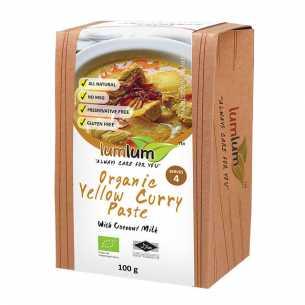 Organic Yellow Curry Paste