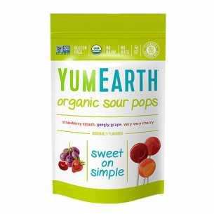 Organic Lollipop Bag Super Sour