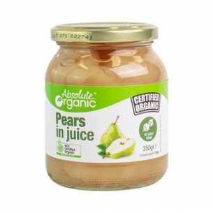 Pears in Juice