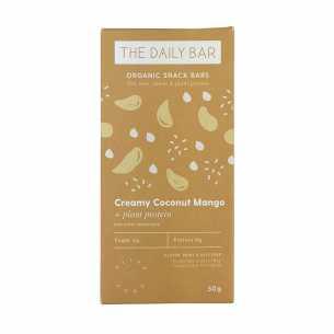 Creamy Coconut Mango Bar
