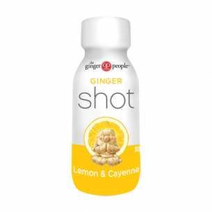 Ginger Shot Lemon and Cayenne