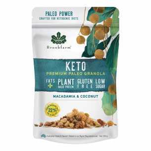 Keto Paleo Granola - Macadamia Coconut