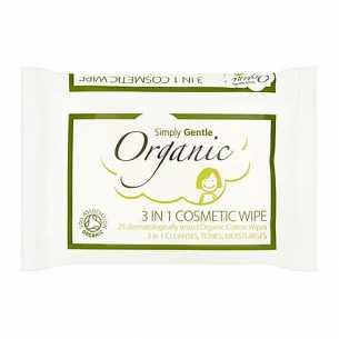 Cosmetic Wipe 3 in 1 Cleanses, Tones, Moisturises