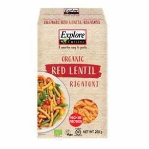 Red Lentil Rigatoni