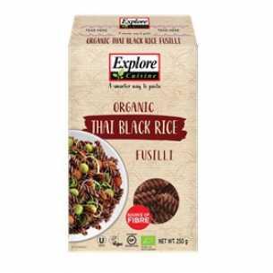 Thai Black Rice Fusilli