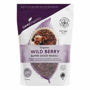 Organic Super Good Muesli Wild Berry