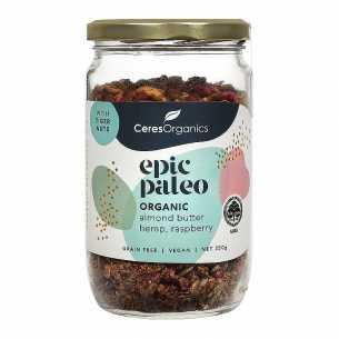 Paleo Breakfast Mix Almond Butter, Hemp and Raspberry