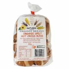 Organic Spelt Hot Cross Buns
