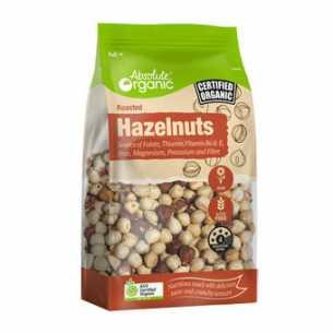 Organic Roasted Hazelnuts