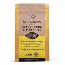 Hemptations Black Tahini and Pineapple
