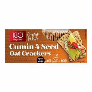 4 Seed Oat Crackers Cumin