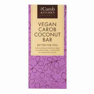 Vegan Carob Coconut Bar