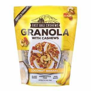 Granola Coconut Banana