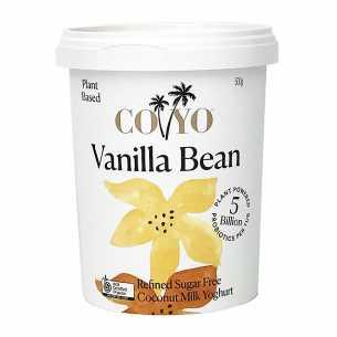 Vanilla Bean Coconut Yoghurt Vegan