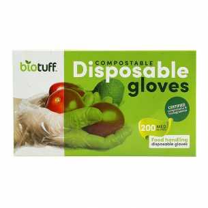 Compostable Disposable Gloves Medium