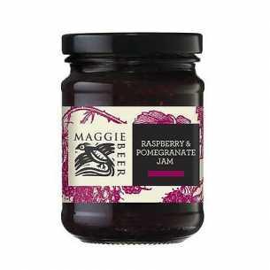 Raspberry and Pomegranate Jam