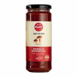 Shiraz and Mushroom Pasta Sauce