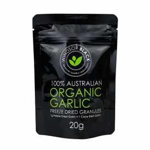 Freeze Dried Organic Garlic Granules