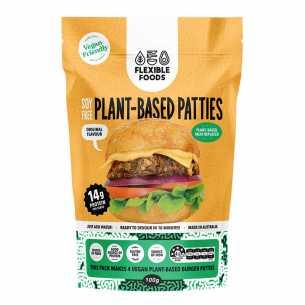 Plant Based Patties Original - Soy Free