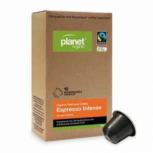 Organic Coffee Capsules Espresso Intense