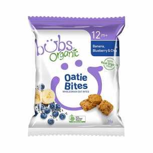 Oatie Bites Banana Blueberry and Chia