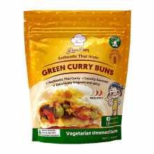 Steamed Bun - Green Curry Vegan
