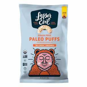 Paleo Puffs No Cheese Cheesiness
