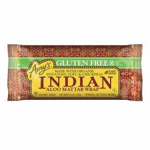 Aloo Mattar Wrap
