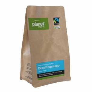 Espresso Decaf Plunger Grind Coffee