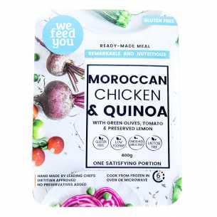 Moroccan Chicken with Quinoa