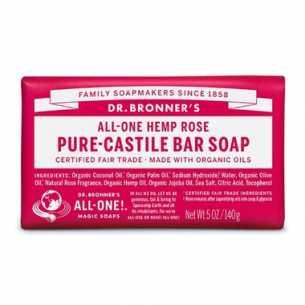 Pure-Castile Bar Soap Rose
