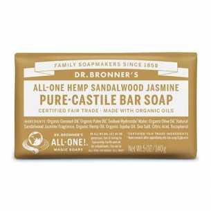 Pure-Castile Bar Soap Sandalwood Jasmine