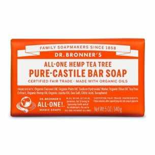 Pure-Castile Bar Soap Tea Tree