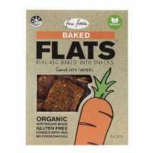 Organic Carrot Baked Flats