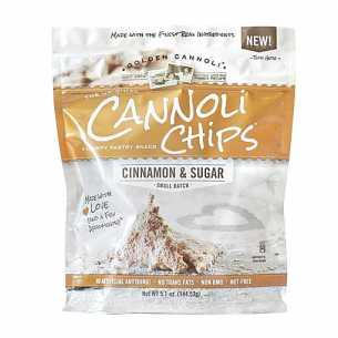 Cinnamon Sugar Cannoli Chips