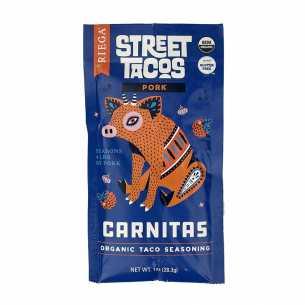 Organic Street Tacos Carnitas (Pork) Seasoning