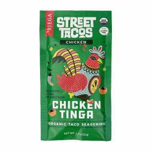Organic Street Tacos Chicken Tinga Seasoning