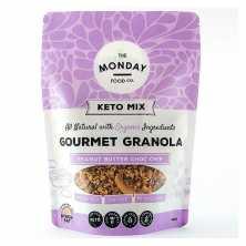 Peanut Butter Chocolate Chip Keto Granola