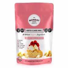 Keto Cake Mix Classic Vanilla Sponge