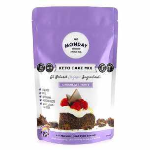 Keto Cake Mix Chocolate Torte