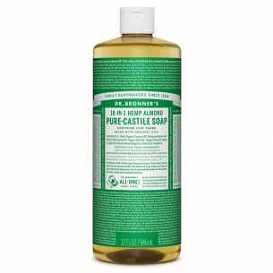 Pure Castile Soap Liquid Almond