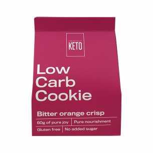 Low Carb Cookie Bitter Orange Crisp