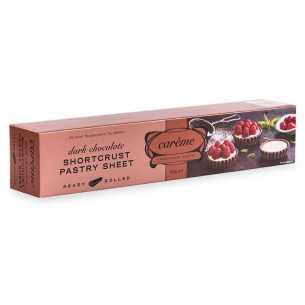 Dark Chocolate Shortcrust Pastry Sheet