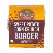 Organic Sweet Potato Corn Crunch Burger Patties