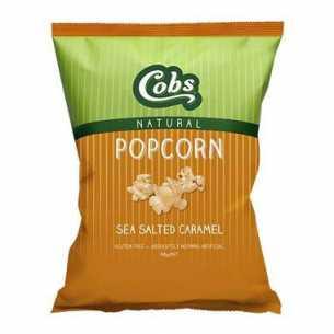 Popcorn Natural Sea Salted Caramel