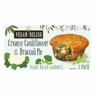 Creamy Cauliflower and Broccoli Pie