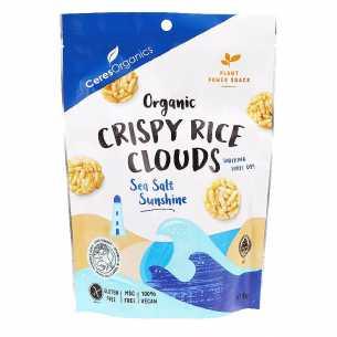 Crispy Rice Clouds Sea Salt
