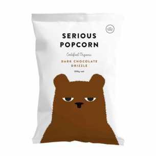 Popcorn Dark Chocolate Drizzle