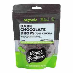 Dark Chocolate Drops Chips 70%