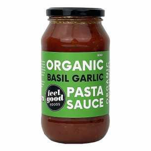 Organic Pasta Sauce Basil Garlic